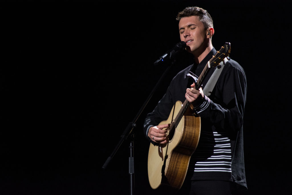 Who is Ireland's Eurovision entry Ryan O'Shaughnessy and when was he on Britain's Got Talent?