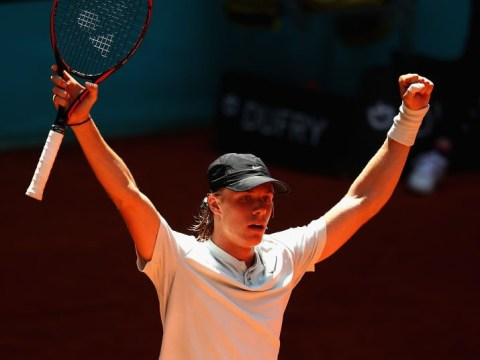 Denis Shapovalov believes he's at a huge advantage just like Rafael Nadal