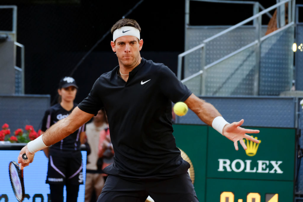 Juan Martin del Potro OUT of the Madrid Open