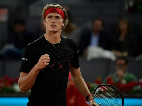 Alexander Zverev swats Denis Shapovalov aside to set up Dominic Thiem final in Madrid