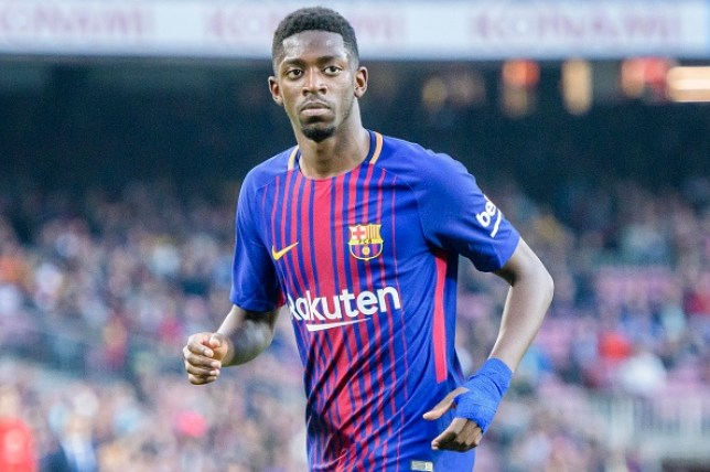 e44d69f7789 The Frenchman has struggled to live up to his price tag since leaving  Dortmund (Picture: Getty). Barcelona are prepared to sell Ousmane Dembele  ...