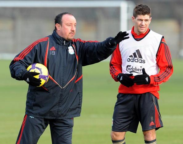 Rafa Benitez speaks out on Steven Gerrard's appointment at Glasgow Rangers