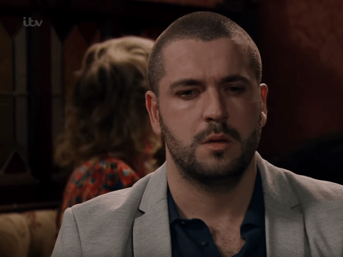 What was the song in Coronation Street playing for Aidan Connor's death scene?