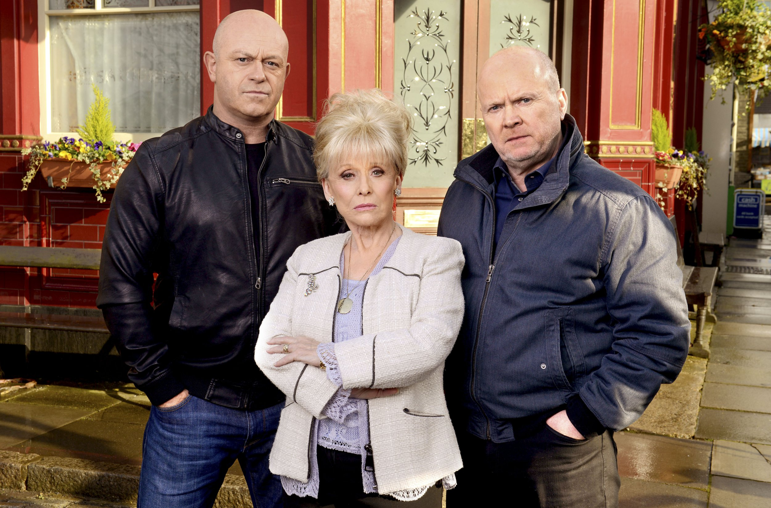 Ross Kemp 'very proud' of Barbara Windsor for going public with Alzheimer's diagnosis