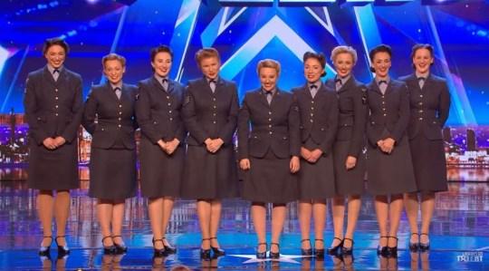 D-DAY Darlings Britain's got talent