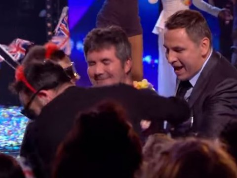 Ant and Dec force Simon Cowell to dance on stage (and he does it!) as Britain's Got Talent auditions end