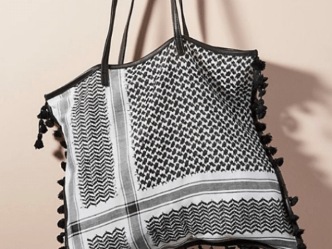 Anthropologie accused of cultural appropriation for creating an 'En Shalla Tapestry Tote'