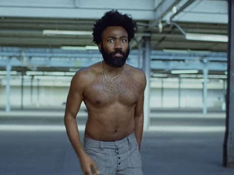 Joan Smalls is just as here for Childish Gambino's This Is America as you are
