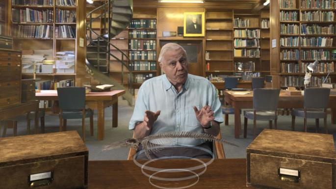 David Attenborough found becoming a VR hologram a 'creepy' experience