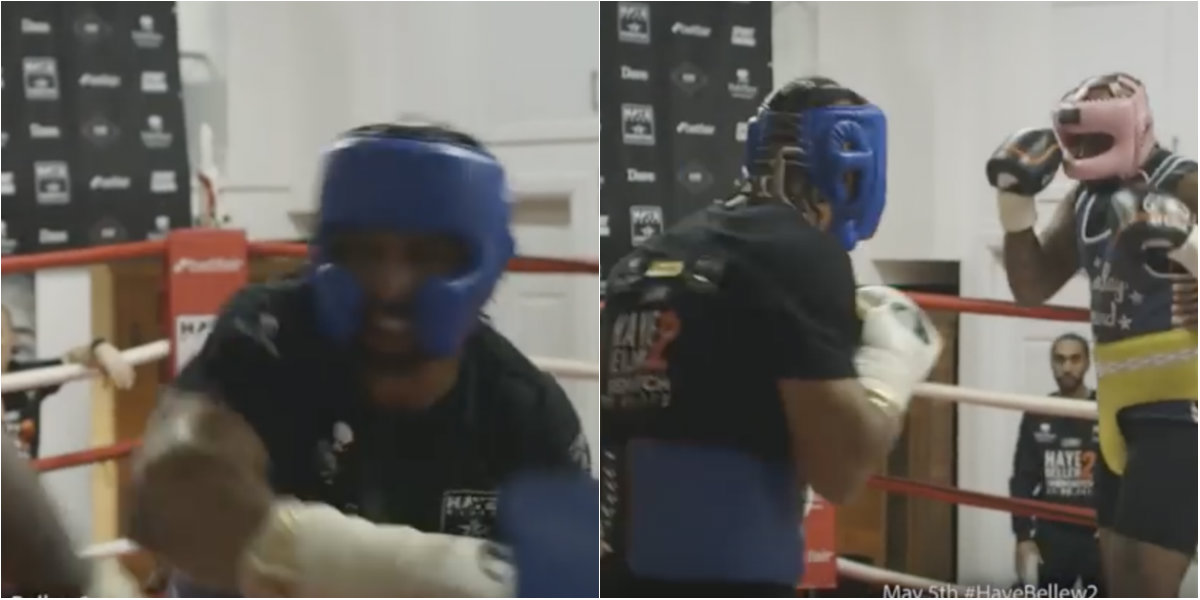 David Haye releases sparring footage ahead of Tony Bellew rematch