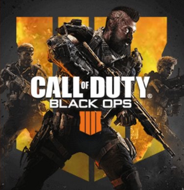 Call Of Duty: Black Ops 4 - it's definitely got guns in it