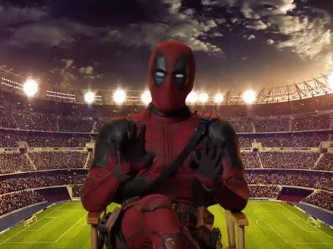 Watch Deadpool open FA Cup final with a suitably British message