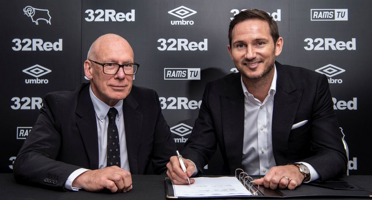 Frank Lampard named as new Derby County manager