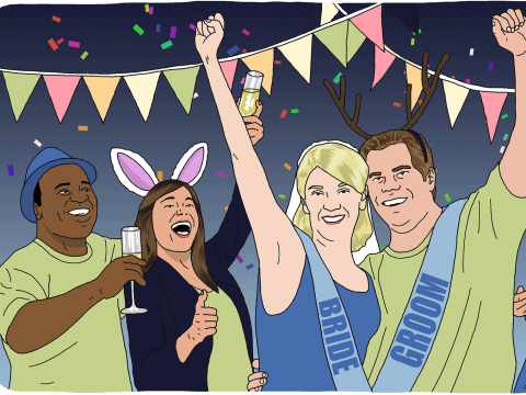 The 'sten' do: Why the traditional stag and hen parties have lost their appeal