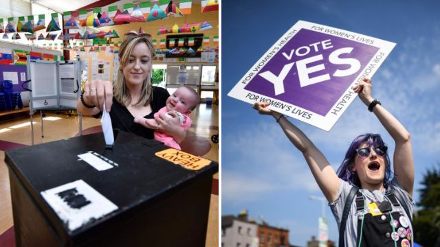 Ireland set to legalise abortion after exit polls predict landslide victory