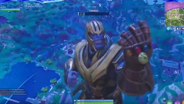 Fortnite Update Sees Thanos Of Infinity War Arrive In Gameplay