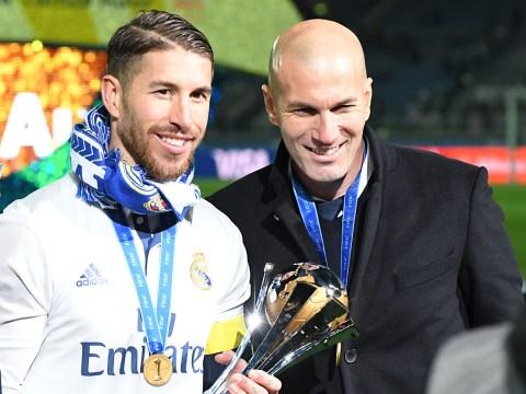 Zinedine Zidane reveals how Sergio Ramos took news he was quitting Real Madrid