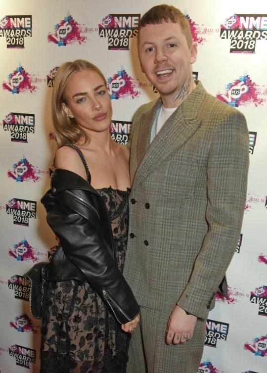 Professor Green calls ex Fae Williams' new boyfriend a 'downgrade