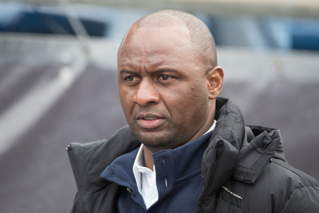 Patrick Vieira unhappy with Arsenal chiefs after talks to replace Arsene Wenger