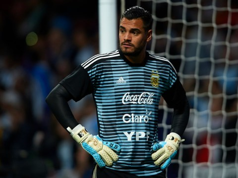 Manchester United star Sergio Romero ruled out of the World Cup