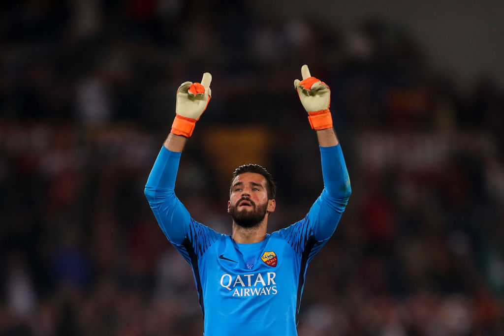 Liverpool on verge of sealing transfer of Roma goalkeeper Alisson ahead of Chelsea