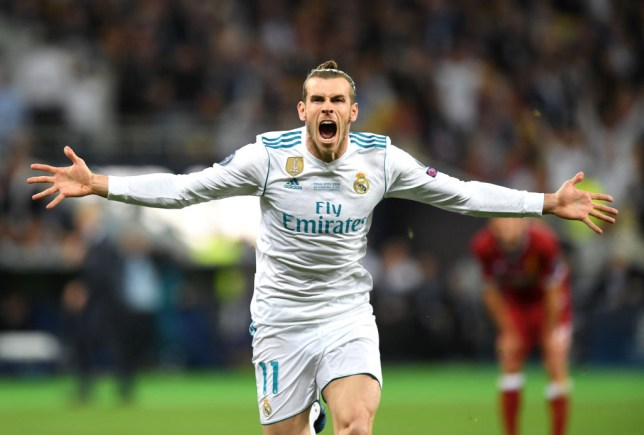 Real Madrid V Liverpool Gareth Bale Goal Helps Seal Champions