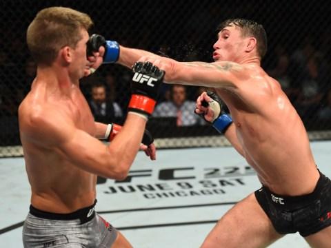 UFC Liverpool: Darren Till beats Stephen Thompson after unanimous decision