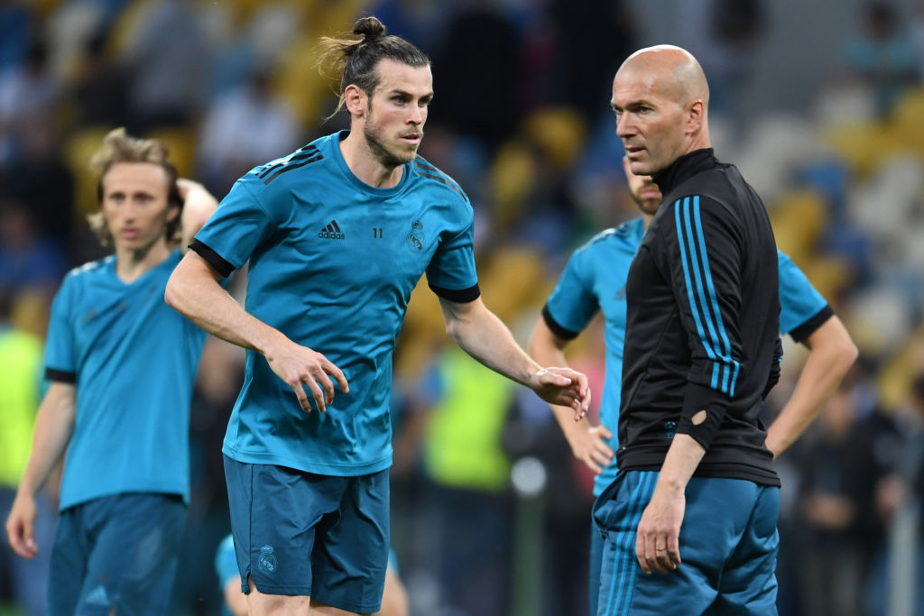 Zinedine Zidane makes key Gareth Bale decision ahead of Real Madrid v Liverpool Champions League final