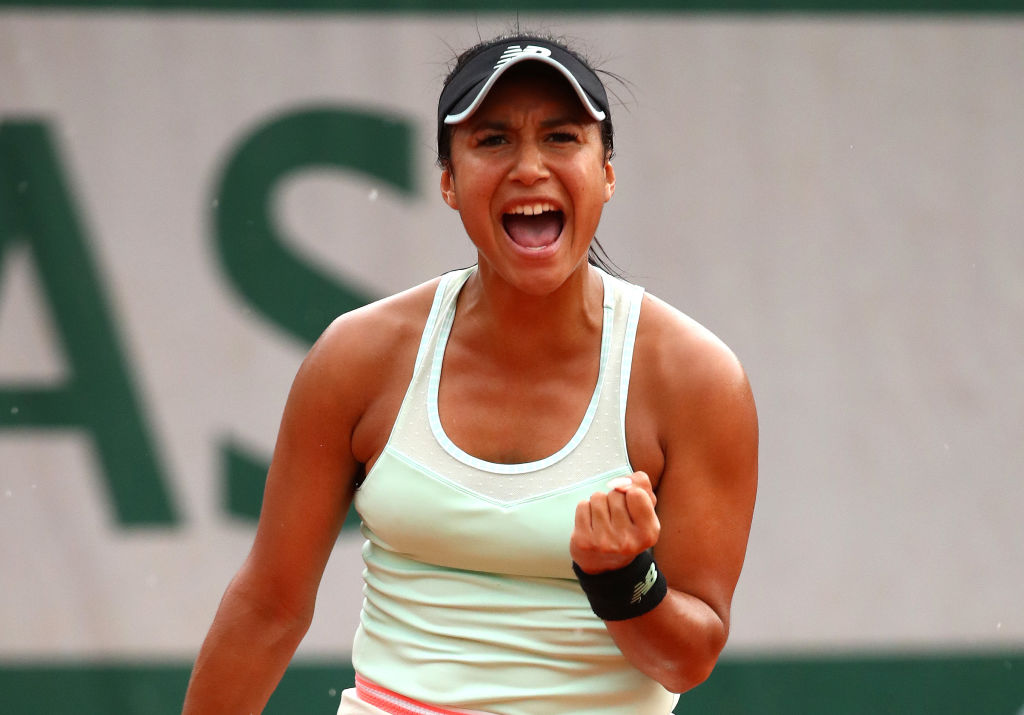 Heather Watson speaks out after reaching French Open round two