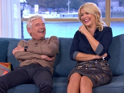 Holly Willoughby and Phillip Schofield have secret signals when a guest shocks