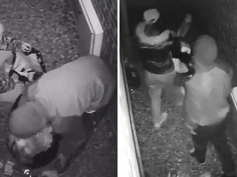 Desperate couple filmed rummaging through bins to get enough food for a meal