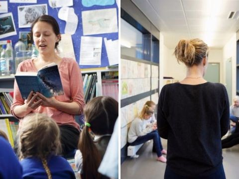 Teachers are having to spend time toilet training children