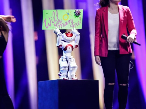 The wackiest Eurovision entry of 2018 is San Marino and its rap dancing robot show Who We Are