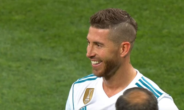 Real Madrid vs Liverpool: Sergio Ramos seen laughing as