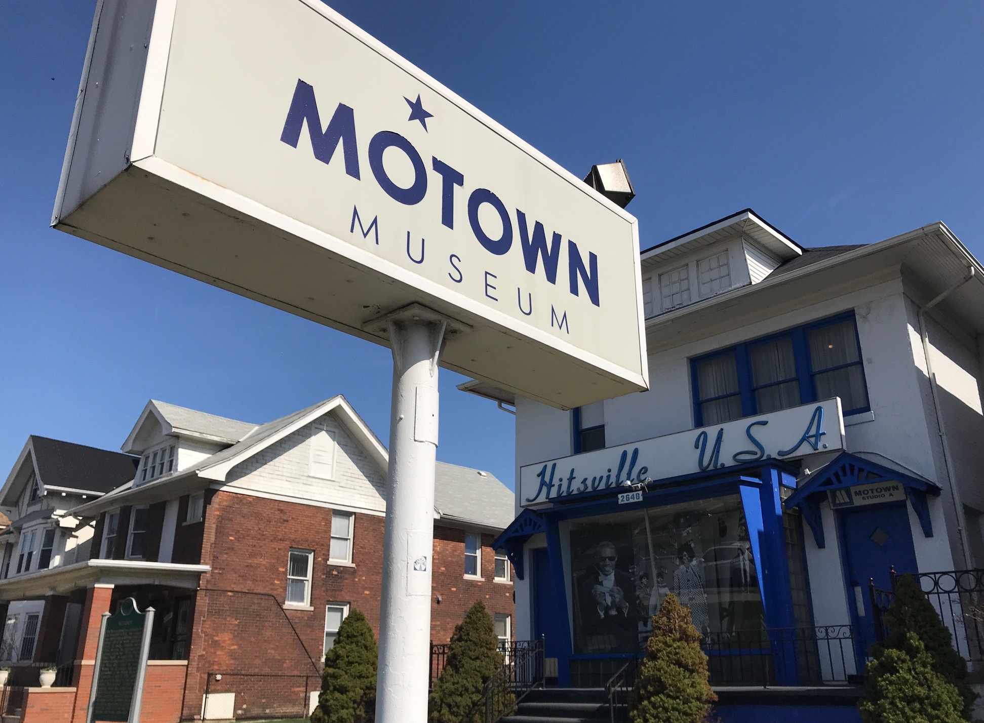 The Motown Museum in Detroit Picture: Yvette Caster