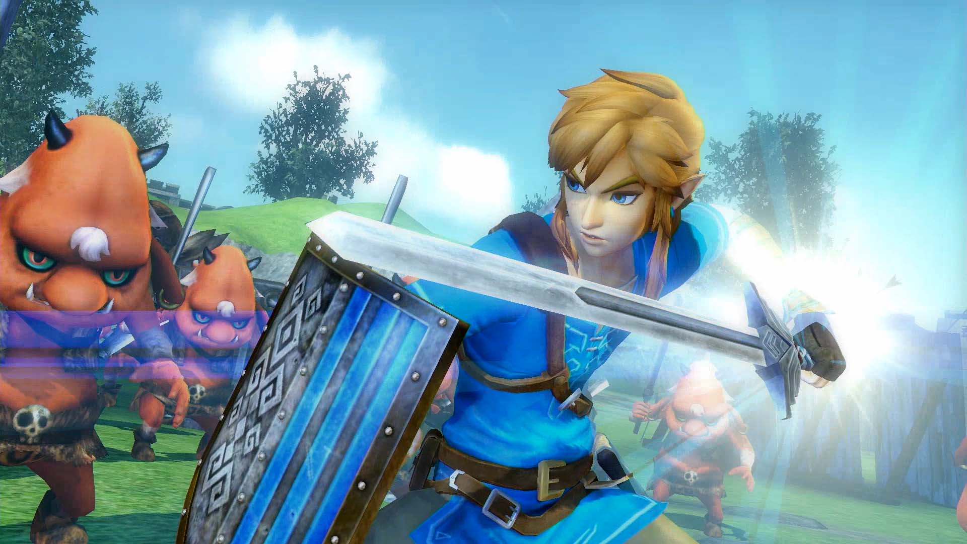 Hyrule Warriors: Definitive Edition (NS) - it looks like Zelda but tastes like Dynasty Warriors