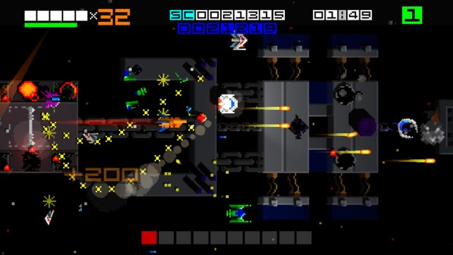 Hyper Sentinel (NS) - very old school gaming