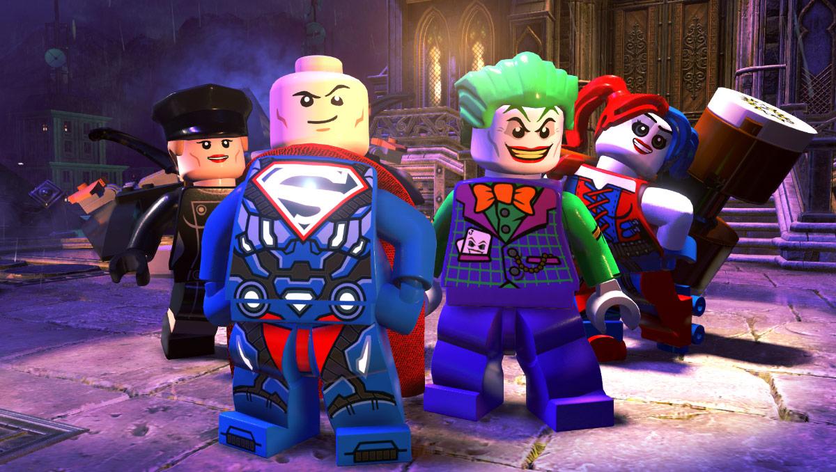 Lego DC Super-Villains - that's Lex Luthor Superman on the left