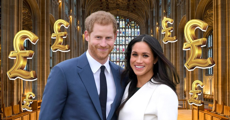 Royal Wedding Cost.Royal Wedding Cost And Who Pays For Harry And Meghan S Big