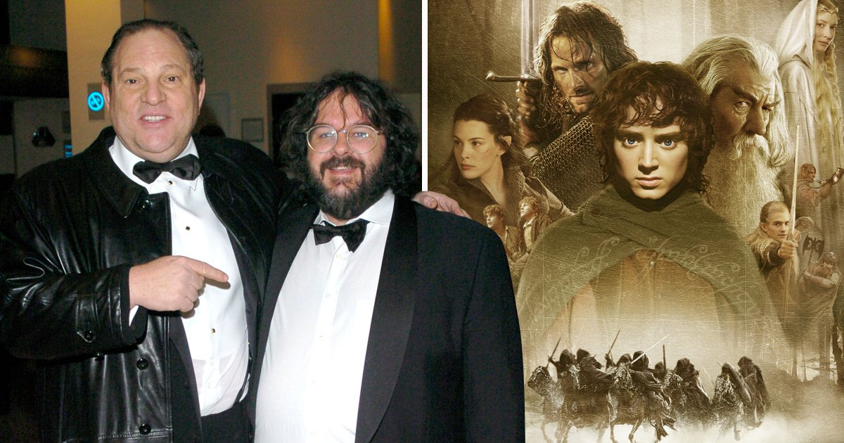 Harvey Weinstein threatened to replace Peter Jackson with Quentin Tarantino on Lord of the Rings
