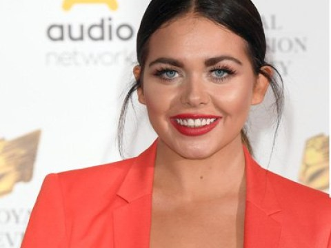 Scarlett Moffatt is 'Royal wedding ready' as she steps out in Windsor to cover Harry and Meghan's big day