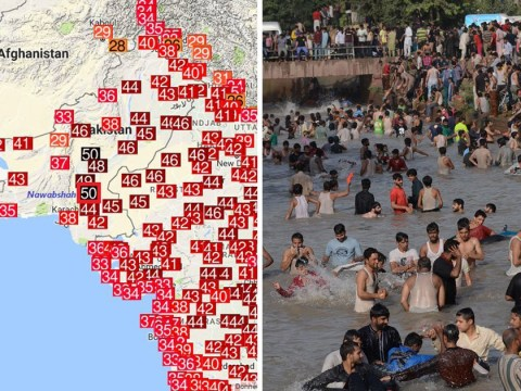 Temperatures hit 50.2C in Pakistan on hottest April day ever recorded on Earth