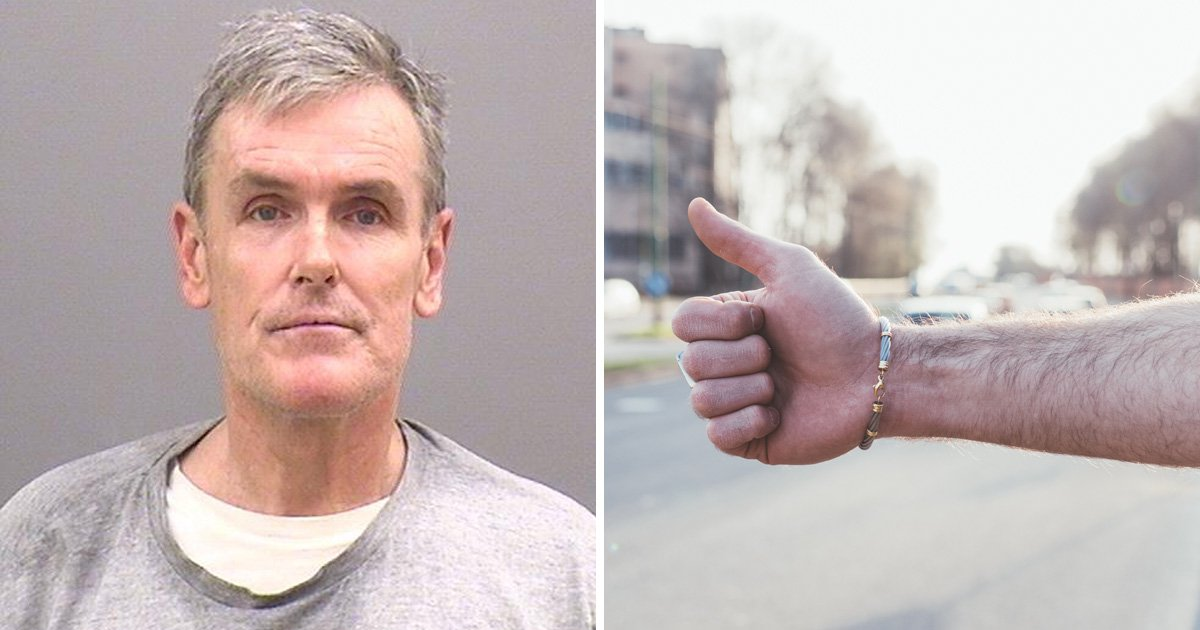Man wearing fake leg brace pretended to be hitchhiker to steal cash from drivers