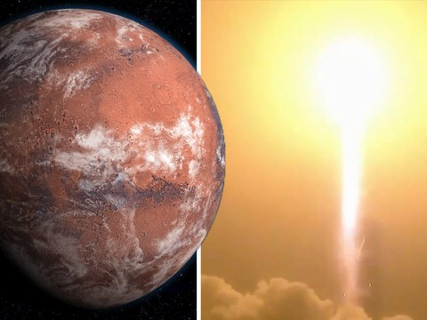 Nasa launches spacecraft bound for Mars