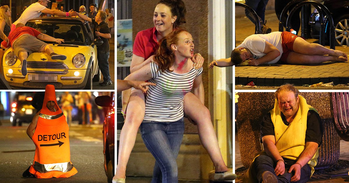 Did you have as much fun as these people for May bank holiday?