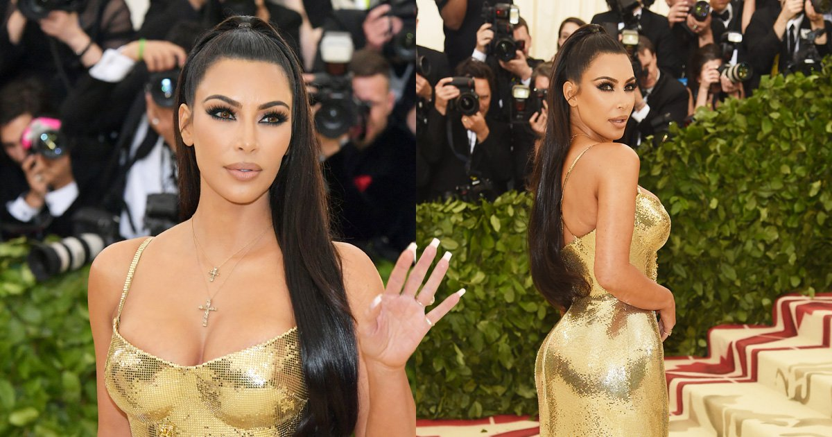 Kim Kardashian thinks it's pretty hilarious that Katy Perry flew her fake nails on private jet for Met Gala