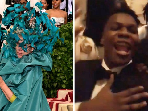 Frances McDormand crashes John Boyega's rowdy Met Gala selfie and it might be the best thing of the evening