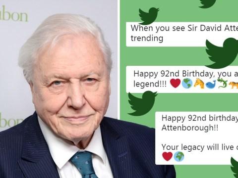 David Attenborough trends because everyone wants to wish him happy 92nd birthday