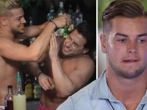 Chris Hughes wishes he took 'extra-large' condoms into Love Island villa as he and Kem Cetinay share a brag