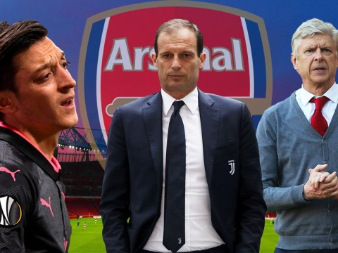 Why Max Allegri is the perfect manager to finally solve Arsenal's Mesut Ozil problem